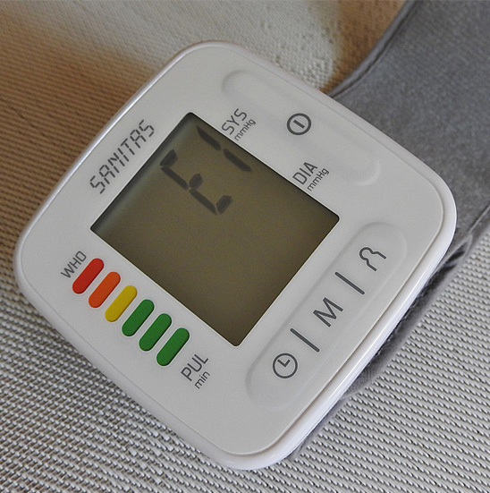 Wrist BP Machine