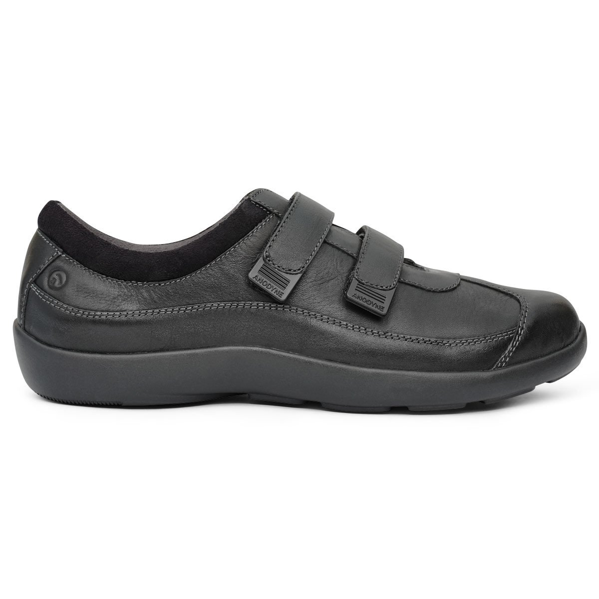 zapatos ortopédicos & zapatos para pacientes con diabetes - Women No 97 Casual Sport Velcro Black Medial 1200x - Zapatos Ortopédicos & Zapatos para Pacientes con Diabetes